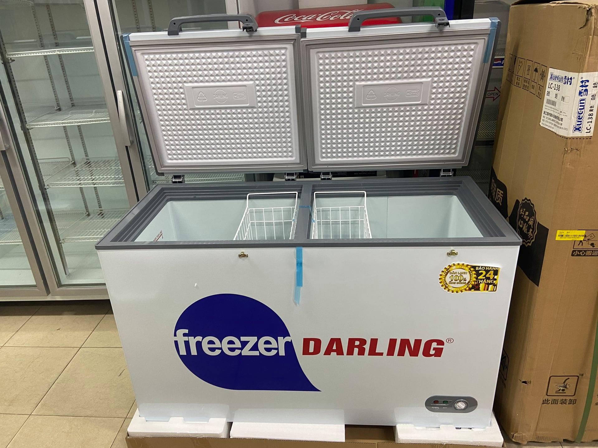 Tủ đông 1 ngăn tiết kiệm điện Darling
