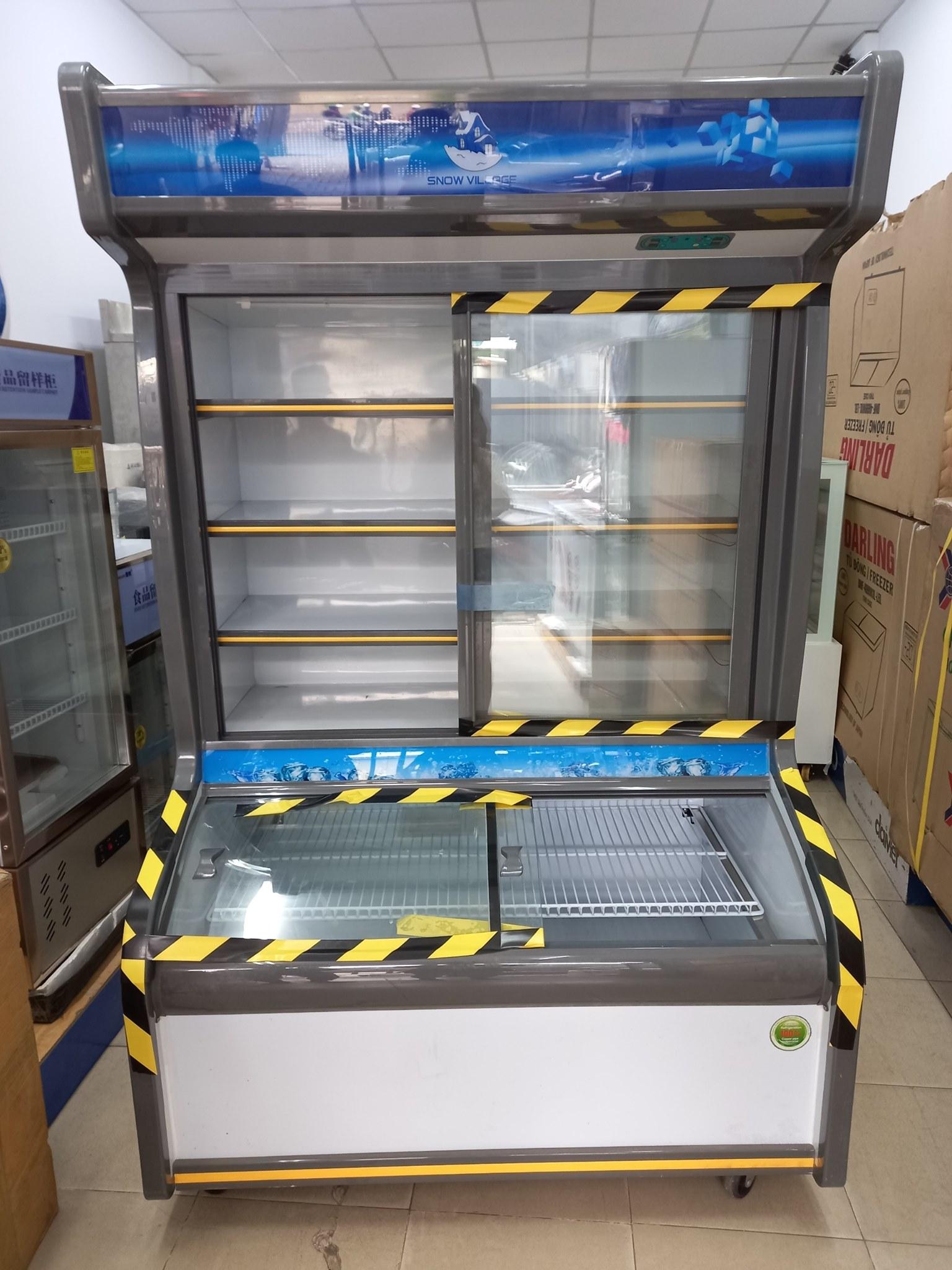 Tủ trưng bày siêu thị
